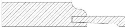 Profil 2 avec bord droit