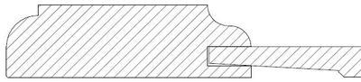 Profil 2 avec bord arrondi